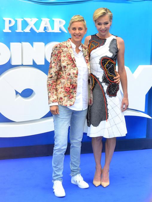 Portia de Rossi, Ellen DeGeneres, lesbians