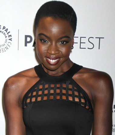 An Evening With The Walking Dead Cast Live at the Paley Center Featuring: Danai Gurira Where: New York, United States When: 11 Oct 2014 Credit: Joel Ginsburg/WENN.com