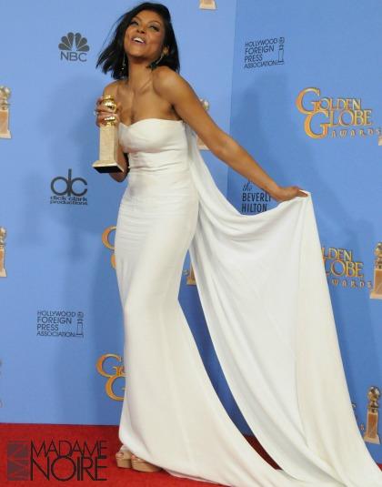 Taraji P Henson at Golden Globes