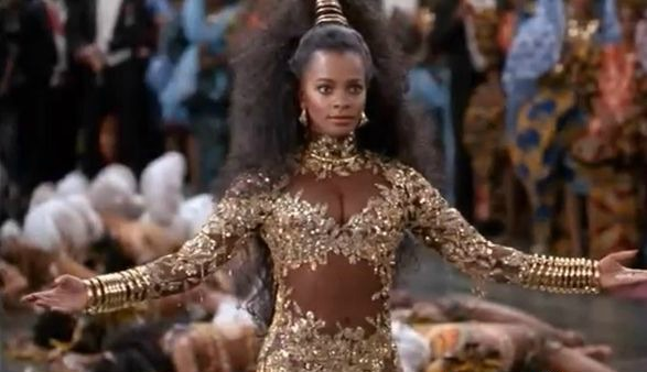 Vanessa Bell Calloway Wears Coming To America Costume And Slays