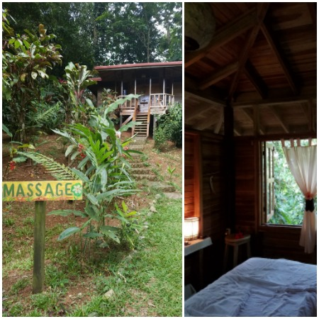 Massage lodge at Samasati