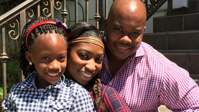 Patrice C. Washington and family