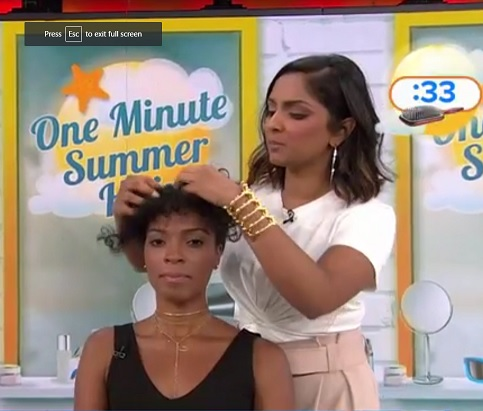Today Show Natural Hair