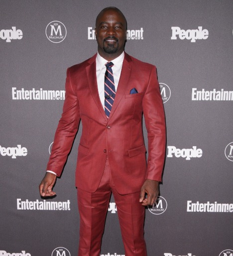 Entertainment Weekly & People Upfronts Party 2016 - Red Carpet Arrivals Featuring: Mike Colter Where: New York, New York, United States When: 16 May 2016 Credit: Ivan Nikolov/WENN.com
