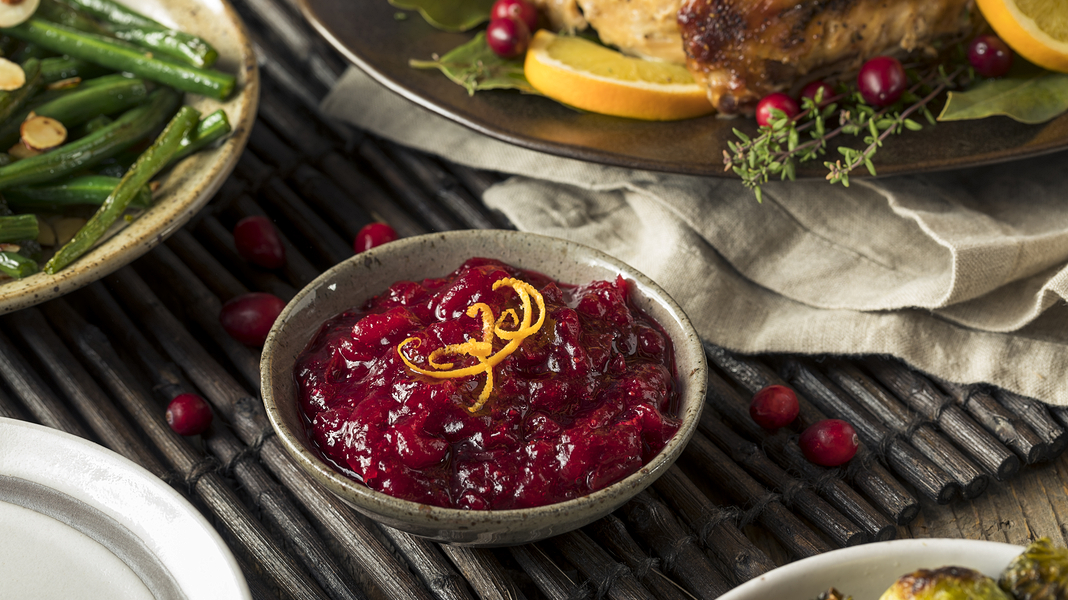 healthy thanksgiving, cranberry sauce, thanksgiving