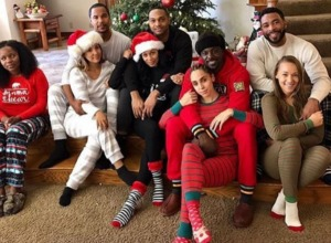 Lance Gross holiday pic