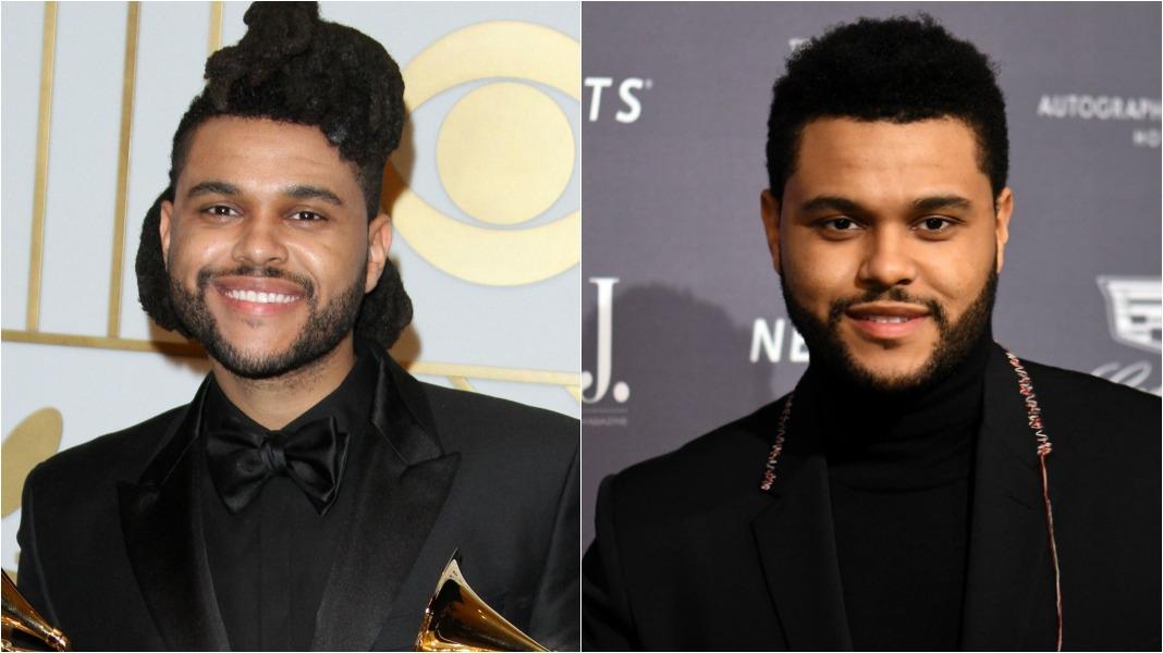 The Weeknd locs