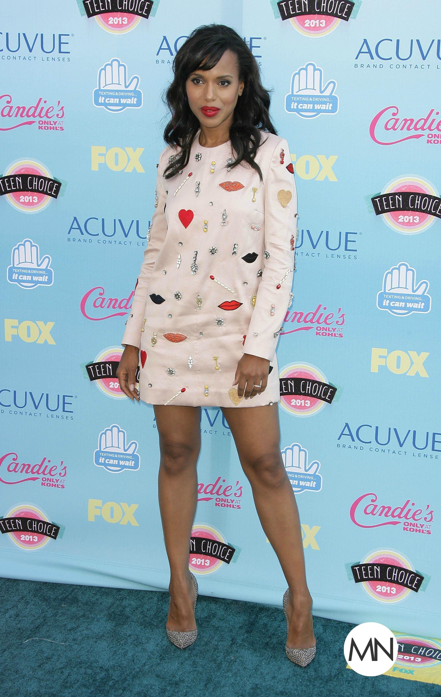 Kerry Washington from 2013 Teen Choice Awards Red Carpet