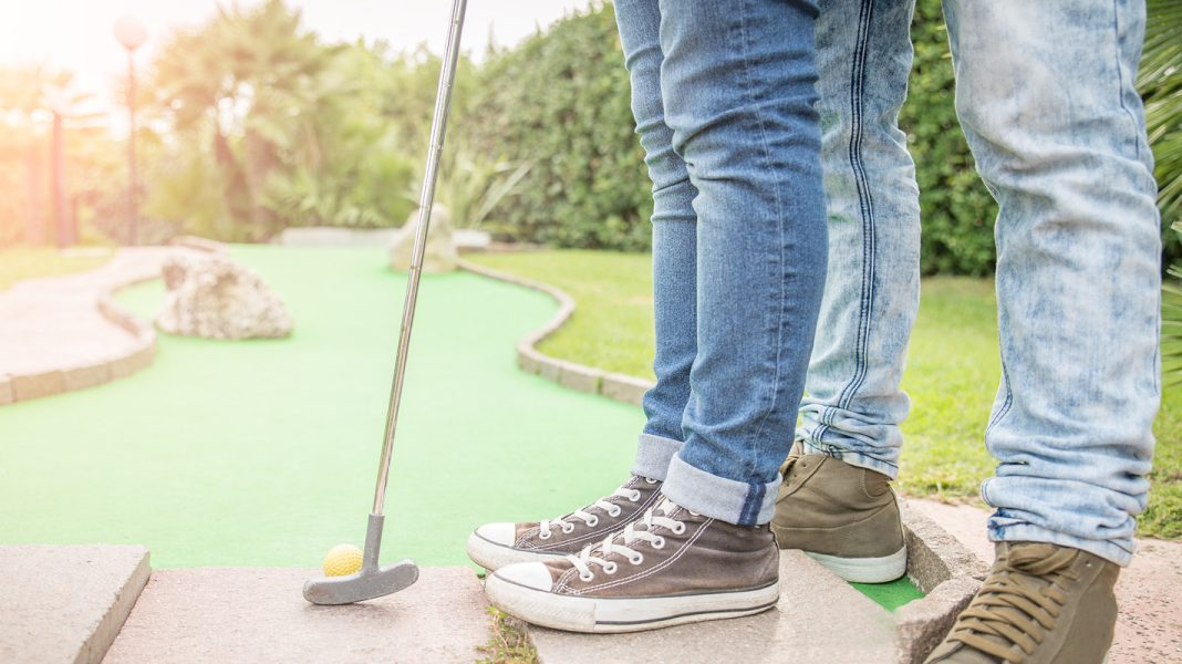 Try mini-golf