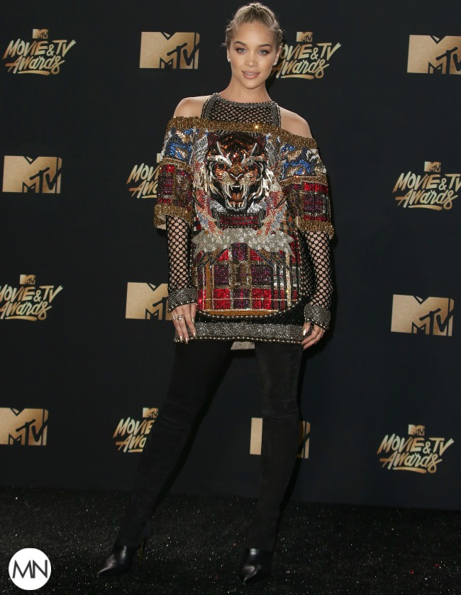 Jasmine Sanders MTV Movie & TV Awards