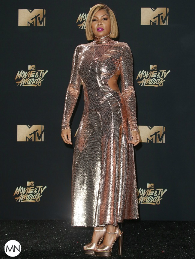 Taraji P. Henson MTV Movie & TV Awards fashion
