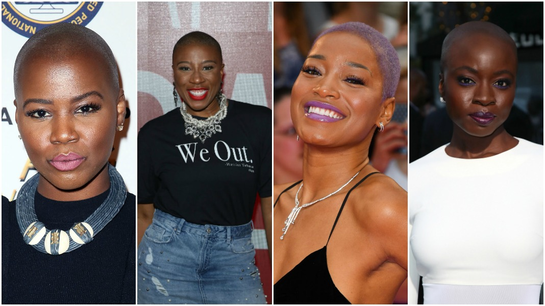 Our Favorite Bold Brown Bald Beauties