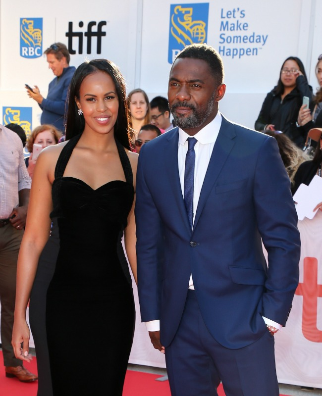Idris girlfriend