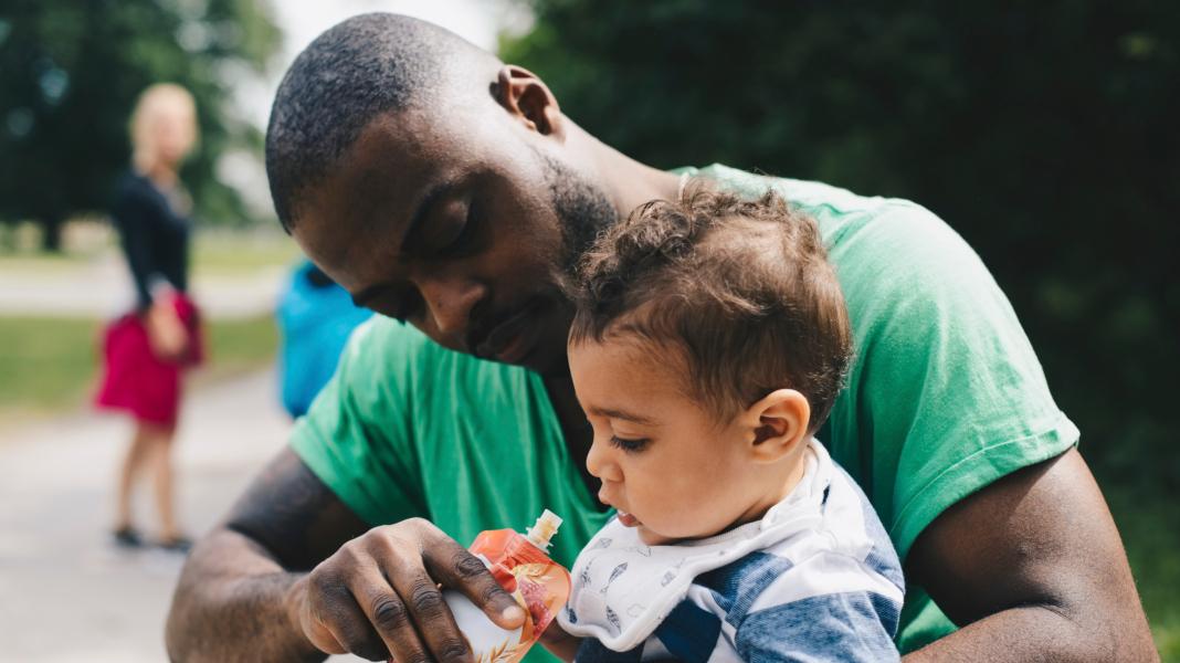 new dads battle postnatal depression