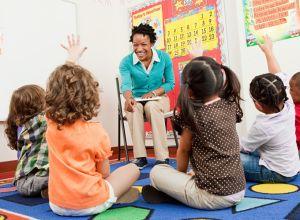 kindergarten teacher nails lesson on diversity
