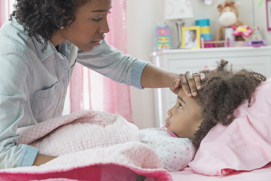 a chronic illness in childhood