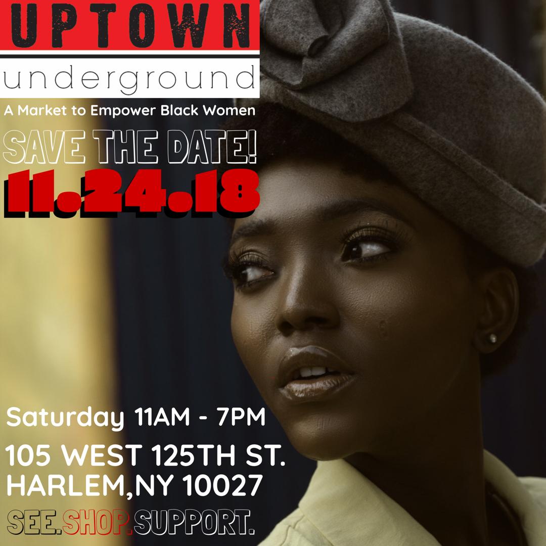 Uptown Underground Market Flyer