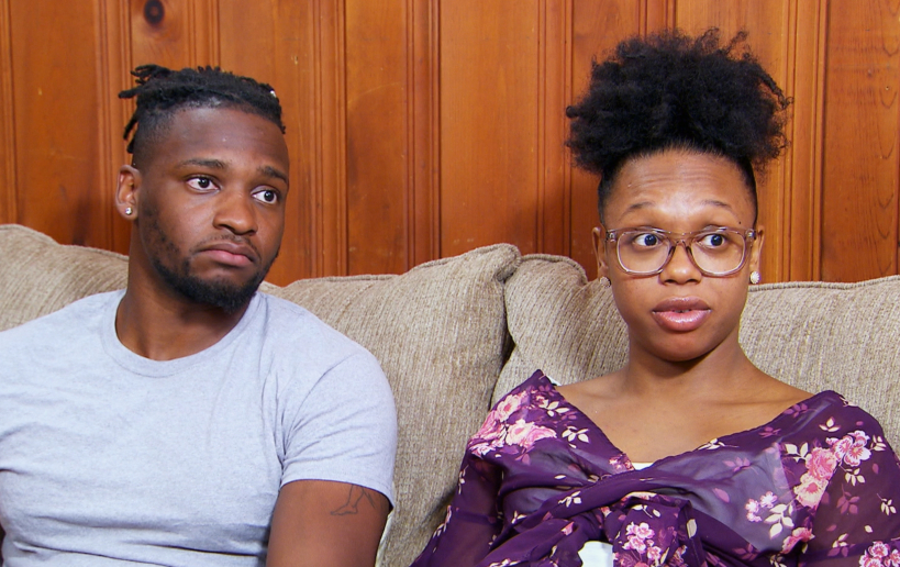 Jephte and Shawniece of Married at First Sight: Happily Ever After
