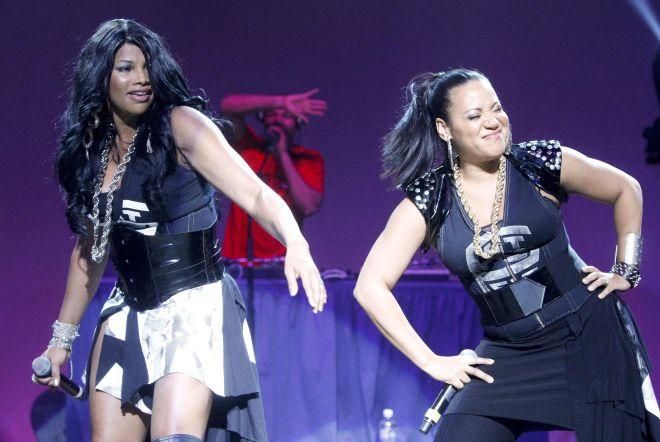 Salt-N-Pepa In Concert - February 26, 2011