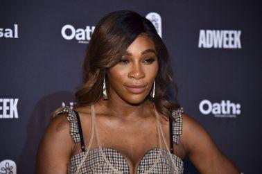 Serena Williams at the 2018 Brand Genius Awards