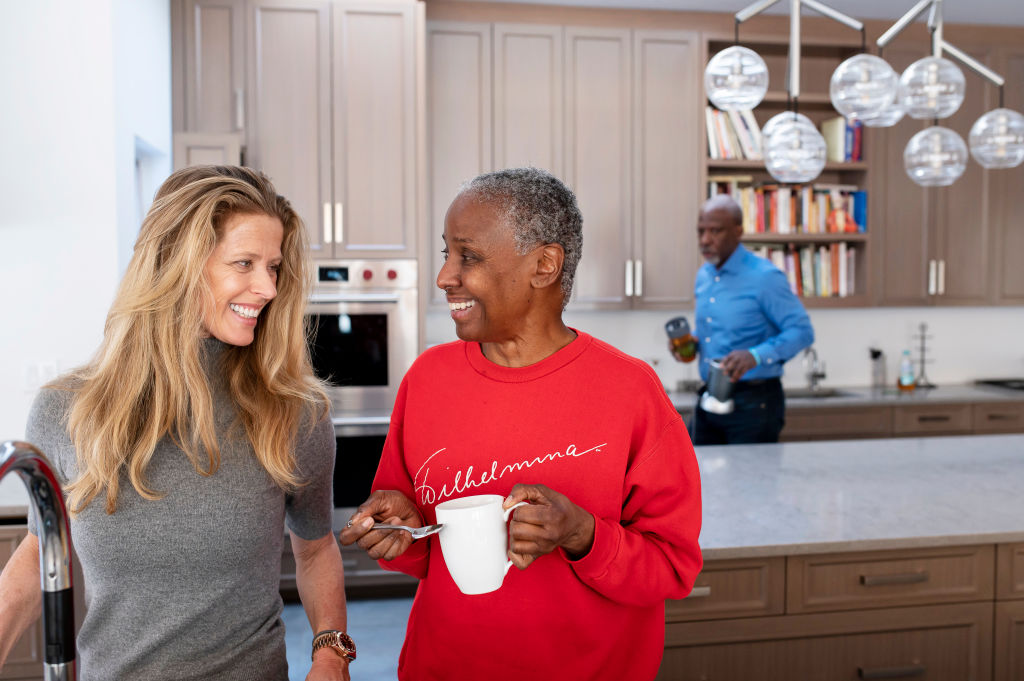 B. Smith and her family grapple with Alzheimer's.