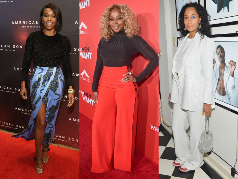 Gabrielle Union, Mary J. Blige and Tracee Ellis Ross hit the gym