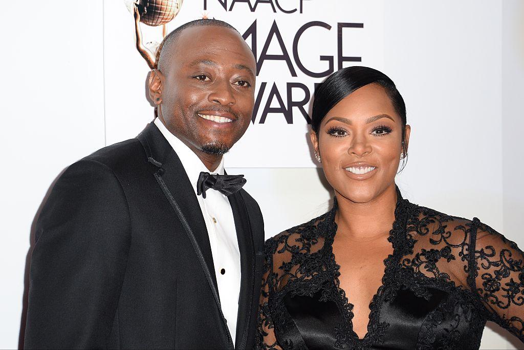 Omar Epps and wife Keisha