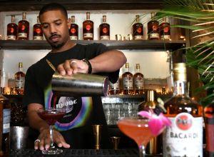 michael b. jordan owns a rum bar