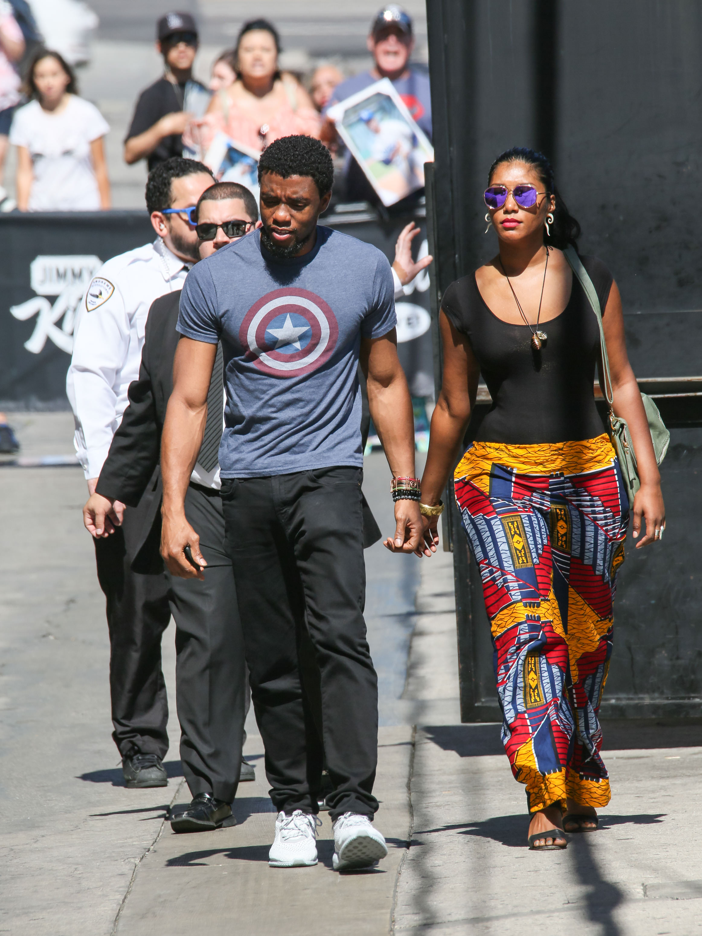 Chadwick Boseman girlfriend