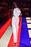 Tommy Hilfiger TOMMYNOW Spring 2019 : TommyXZendaya Premieres : Runway At The Theatre Des Champs Elysees In Paris