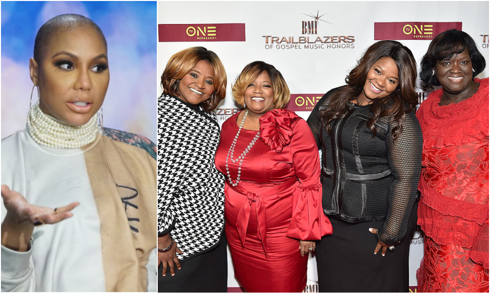Tamar Braxton and Pace Sisters