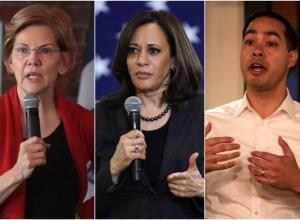 Democratic presidential candidates talk reparations