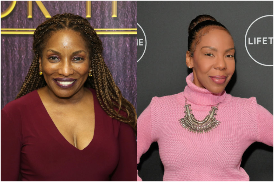 Stephanie Mills and Andrea Kelly