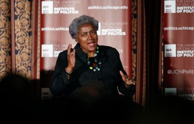 Former DNC Chair Donna Brazile Speaks At The University Of Chicago
