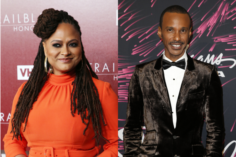 Ava DuVernay and Tevin Campbell