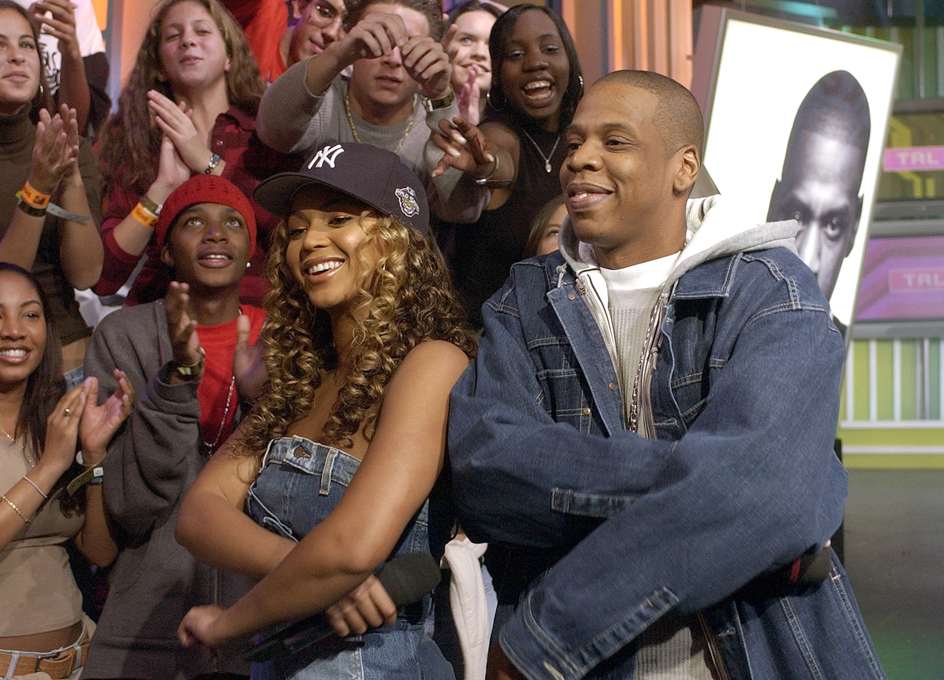 Beyoncé and Jay-Z over the years