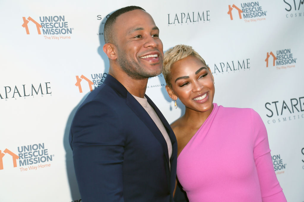Lapalme Magazine's Party For Cover Stars Anthony Anderson And Meagan Good