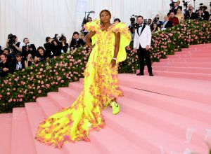 Serena Williams at The 2019 Met Gala Celebrating Camp: Notes on Fashion - Arrivals