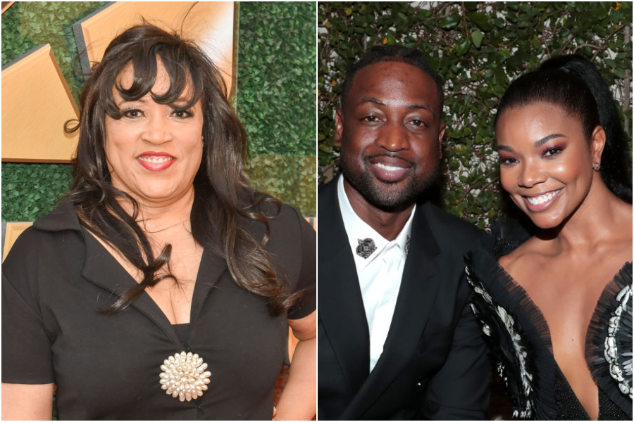 Jackee Harry introduced Dwyane Wade and Gabrielle Union