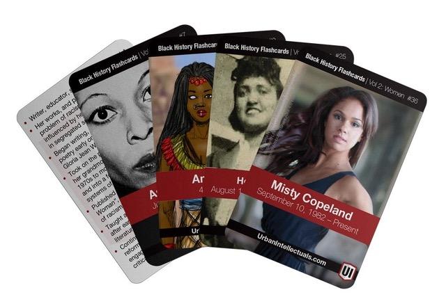 Black History Flash Cards