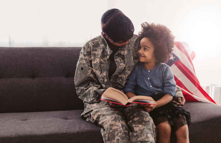 African - American Army Mom