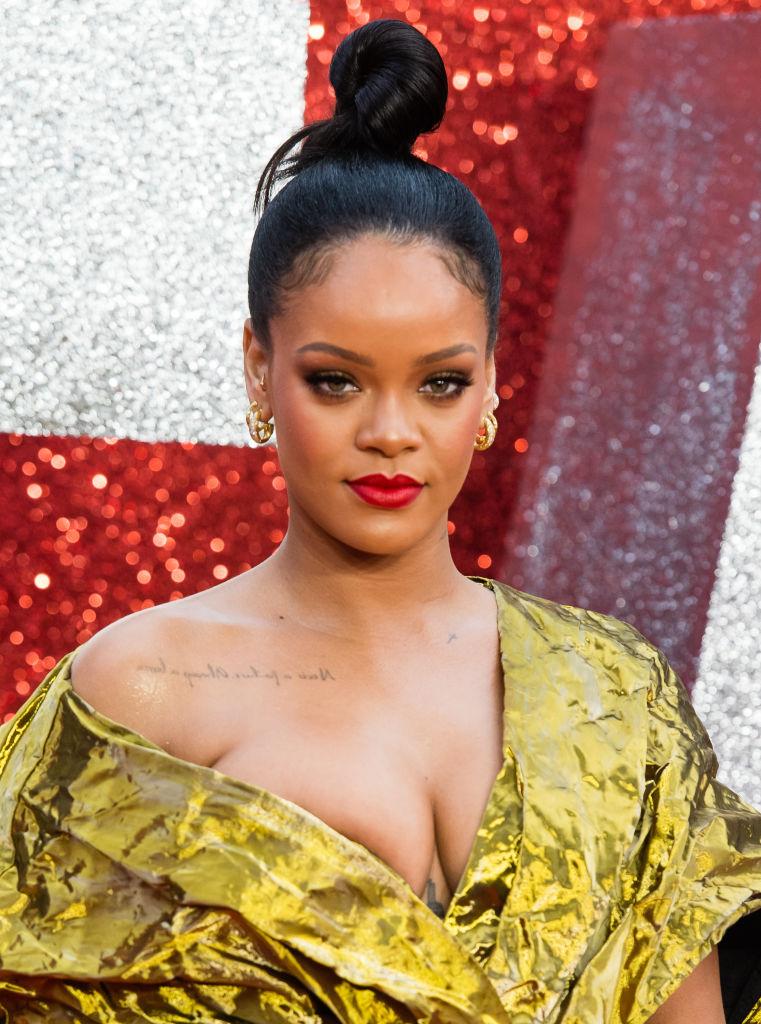 Rihanna at the 'Ocean's 8' UK Premiere - Red Carpet Arrivals