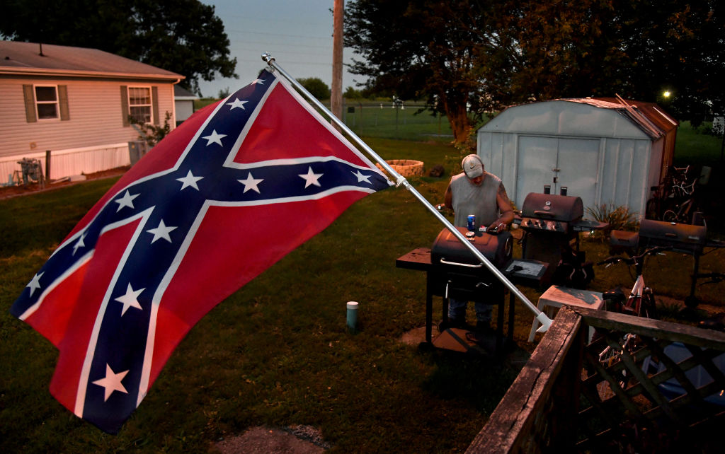 In the North Some People Want to Fly The Confederate Flag With Pride