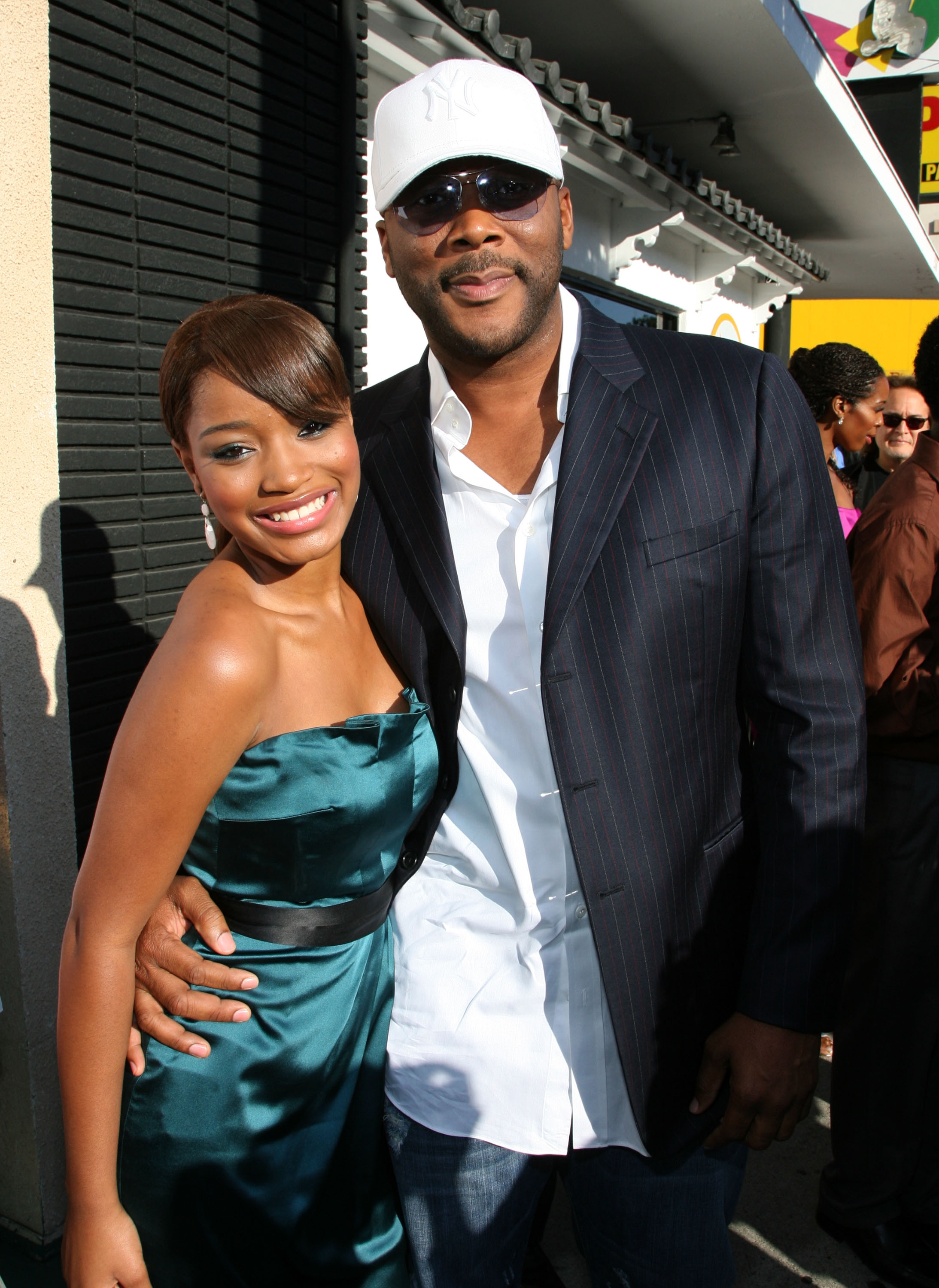 Keke Palmer and Tyler Perry