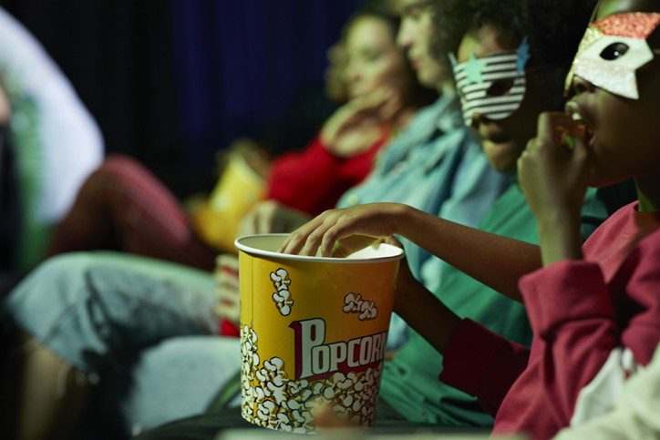 taking your toddler to the movies