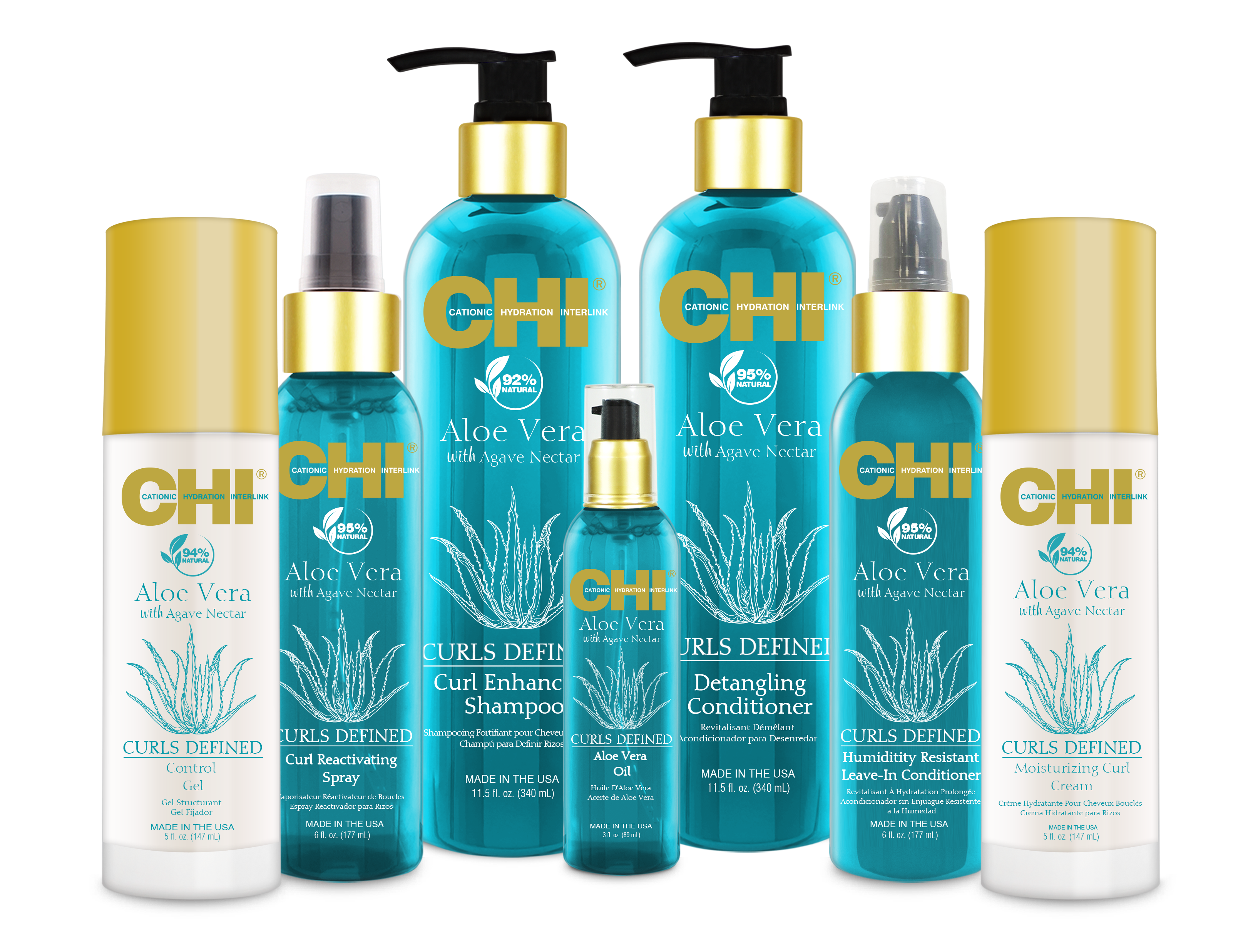 CHI Aloe Vera with Agave Nectar Haircare Collection