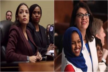Ocasio-Cortez, Pressley, Ilhan Omar, Rashida Tlaib