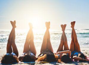 Long, lazy, beachy days