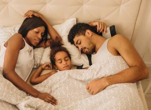 co-sleeping interfering with intimacy