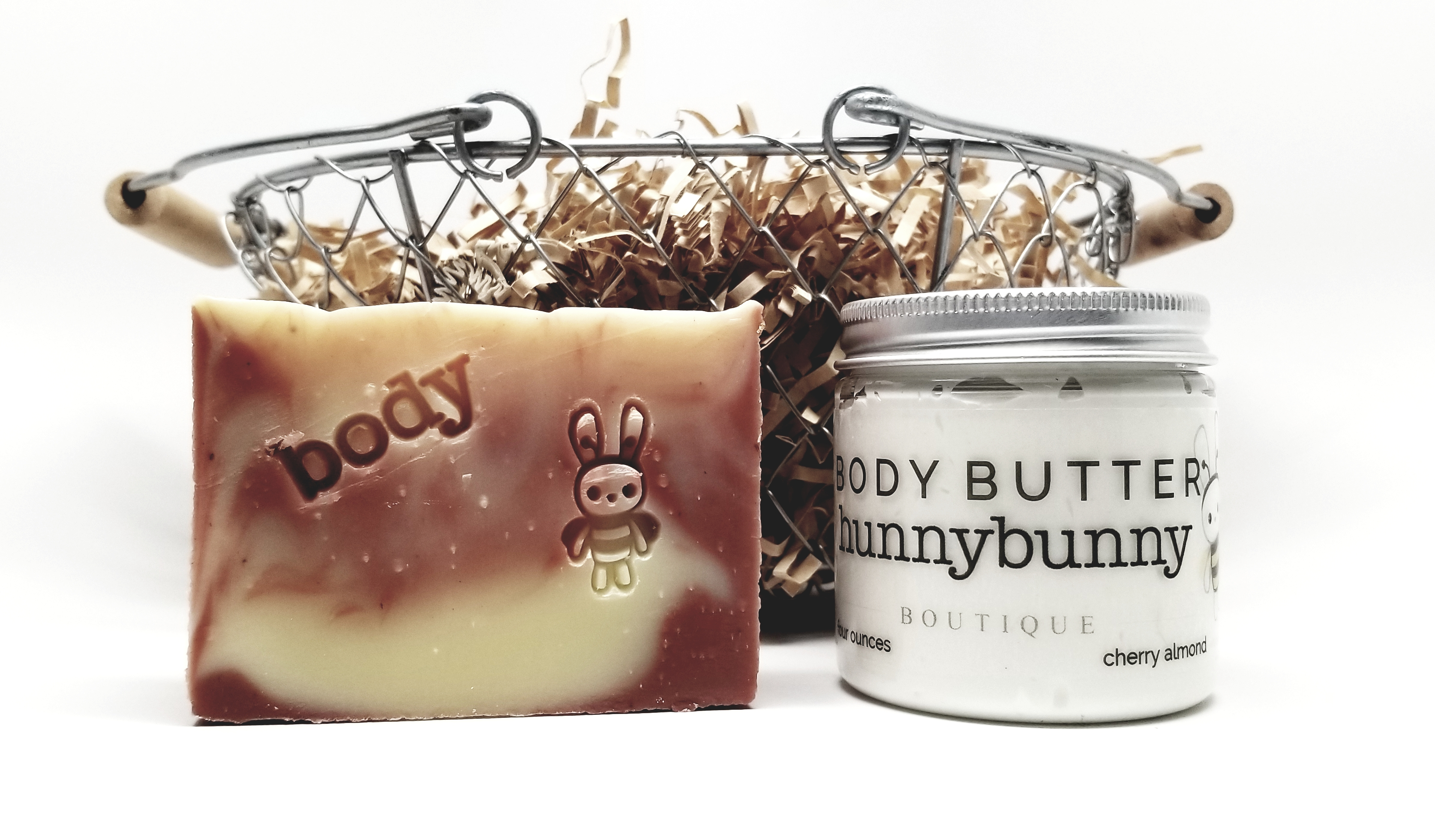 HunnyBunny Boutique Simply Shea Cherry Almond Whipped Body Butter